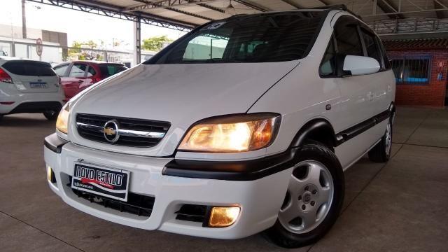 Chevrolet Zafira ZAFIRA 2.0 MPFI ELEGANCE 8V FLEX 4P MANUAL 4P - Foto 12