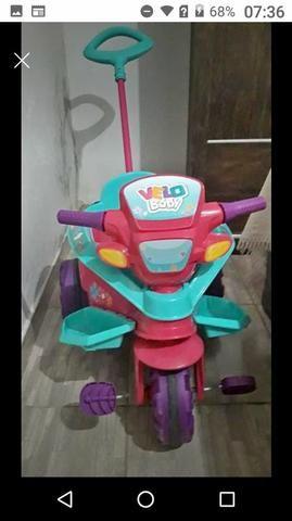 Velo baby,vira triciclo - Foto 2