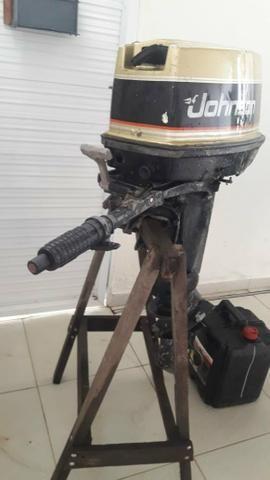 Motor 25hp no precinho - Foto 2