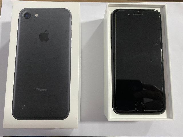 Iphone 7 desbloqueado 128gb Black Original. Saúde da bateria 79% - Foto 3