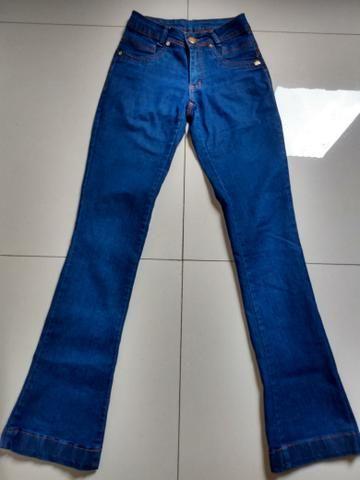 Calça Jeans Flare Feminina - Foto 2