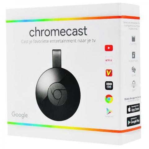ChromeCast 2 Hdmi 1080p Original Retirar BH