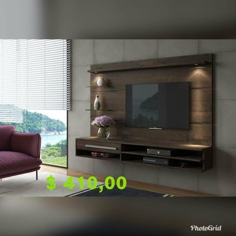 Painel veneza com tv até 55p (leds e suporte grátis) - Foto 5