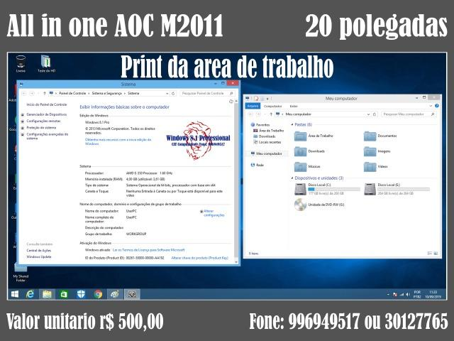 Lote de all in one AOC M2011 - Foto 5