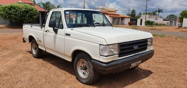 Ford F1000 Turbo Mwm 229 Ano-95 Branca