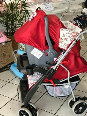 Carrinho Tutti Baby com Bebe Conforto - Foto 2