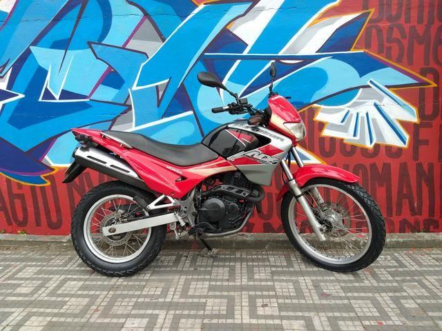 Honda nx4 falcon 2005 troco por moto de menor cilindrada