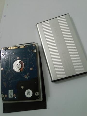 HD de notebook + Case - Foto 2