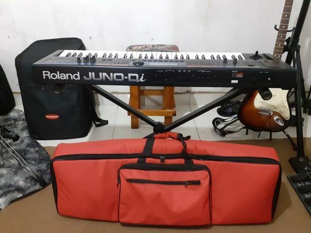 Teclado Sintetizador Roland Juno DI (menor preço)