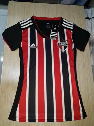 Camisa Do São Paulo feminina original