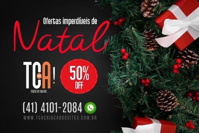 Criação de sites e Logomarcas - Promoção Natal 50% off