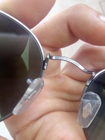 ae5f6cd87aa5f Ray Ban 3447 Round Metal Óculos De Sol unissex - Bijouterias ...