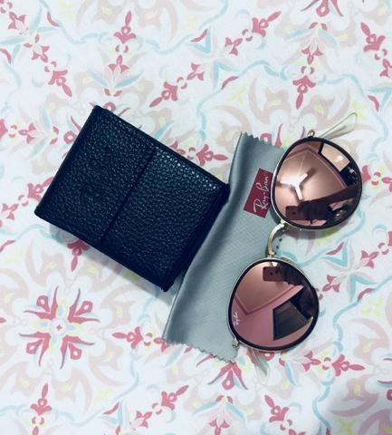 Óculos Ray-Ban Round Dobrável Espelhado - Bijouterias, relógios e ... b33bf1fe0d