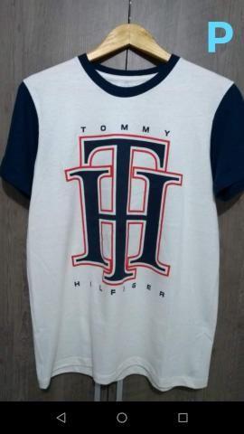 a287d824e082 Tommy Hilfiger camisetas coleção 2019