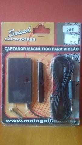 Captador magnético violão sound