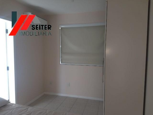 Apartamento mobiliado de 2 dormitorios suite e sacada com churrasqueira no itacorubi - Foto 18