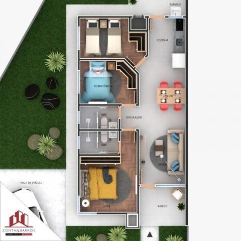 Casa à venda com 3 dormitórios em Gralha azul, Fazenda rio grande cod:CA00106 - Foto 6