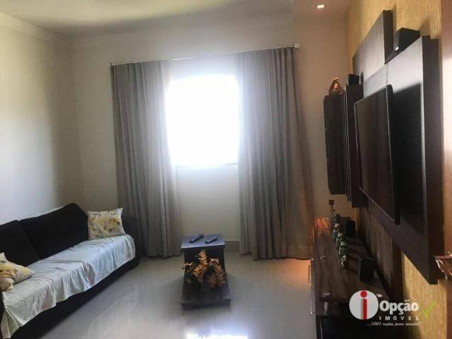 Casa com 3 dormitórios à venda, 234 m² por r$ 550.000,00 - residencial portal do cerrado - - Foto 5
