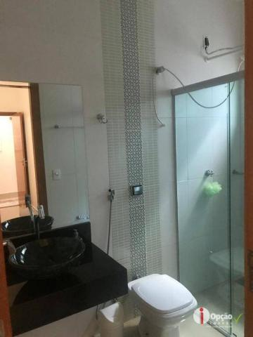Casa com 3 dormitórios à venda, 234 m² por r$ 550.000,00 - residencial portal do cerrado - - Foto 20