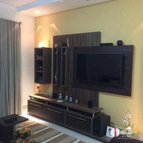Casa com 3 dormitórios à venda, 234 m² por r$ 550.000,00 - residencial portal do cerrado - - Foto 3