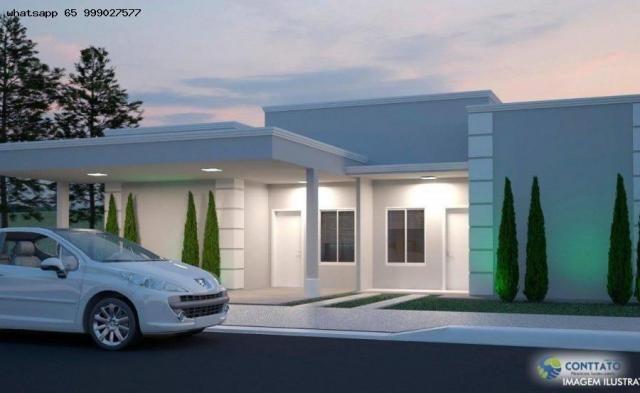 Casa em Condomínio para Venda em Cuiabá, Osmar Cabral, 2 dormitórios, 1 suíte, 1 banheiro, - Foto 9
