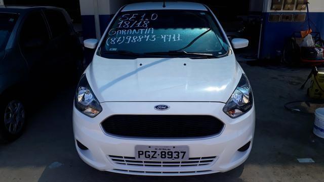 Ford Ka 1.0 ano:18/18 Garantia de Fábrica. Por apenas R$37.000