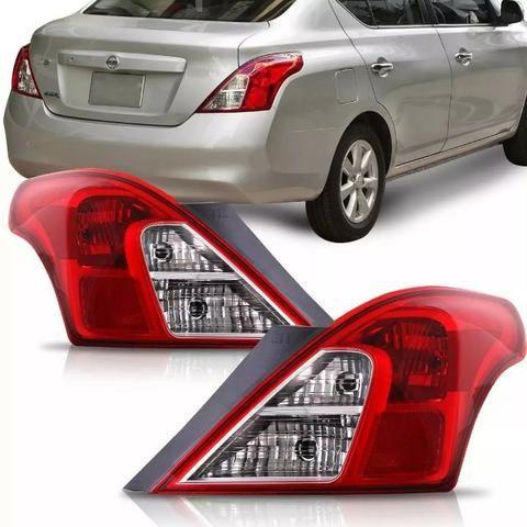 Par Lanterna Traseira Nissan Versa 2011 2012 a 2016 2017