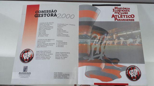 Álbum de figurinhas história ilustrada clube atlético Paranaense  - Foto 3