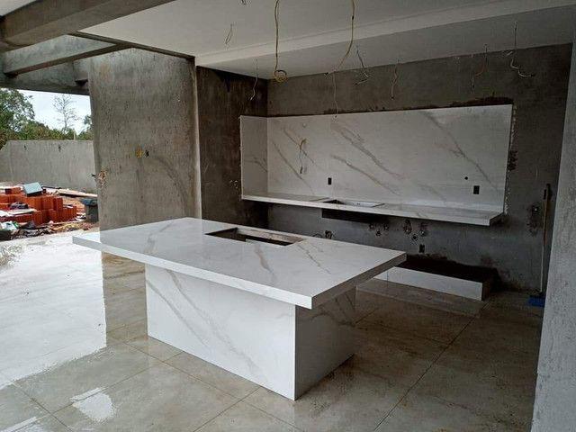 Bancada, nichos, lavatórios em porcelanato  - Foto 5