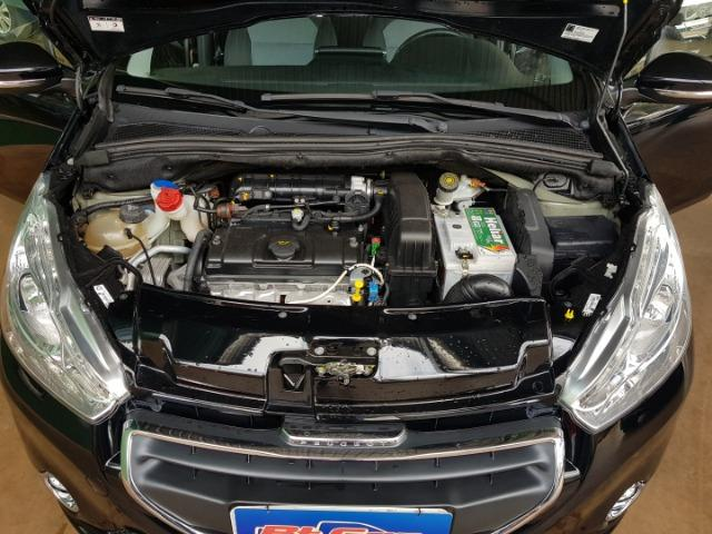 Peugeot 208 active 1.5 flex manual preto 2013/2014 completo - Foto 12