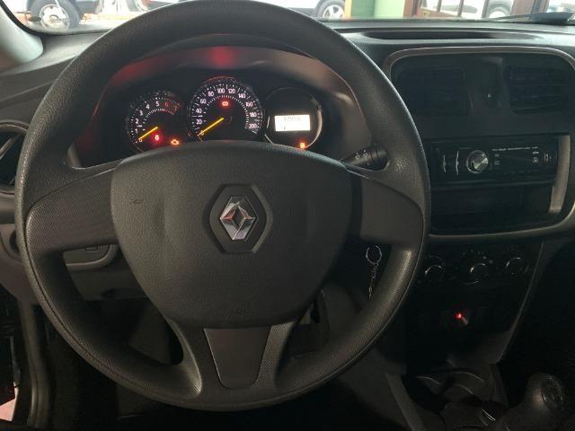 Renault Logan Authentique 1.0 (Flex) 2019 - Foto 5