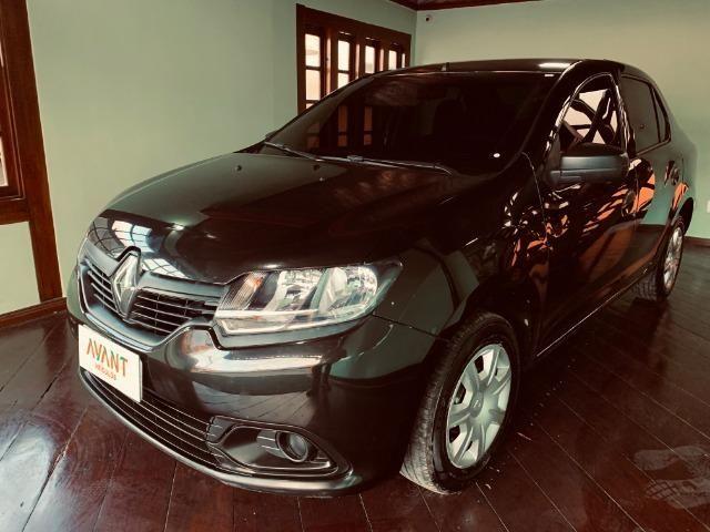 Renault Logan Authentique 1.0 (Flex) 2019 - Foto 2