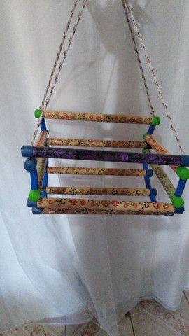 Cadeirinha de balanço ótimo presente para criançada - Foto 5