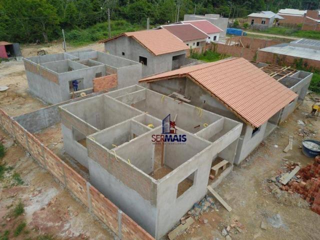 Casa com 2 dormitórios à venda por R$ 125.000 - Orleans Ji-Paraná I - Ji-Paraná/RO - Foto 2