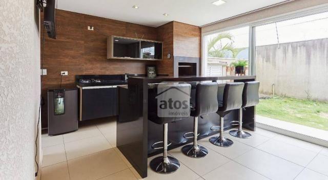 Casa em Condomínio Clube com 5 suítes à venda, 404 m² por R$ 2.390.000 - Pinheirinho - Cur - Foto 17