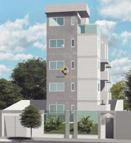 Apartamento à venda com 2 dormitórios em Santa branca, Belo horizonte cod:3943