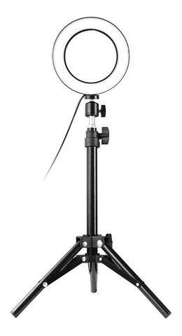 Iluminador de 20cm com tripé Grande-(Lojas Wiki) - Foto 2