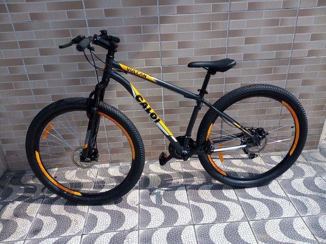 Bicicleta Caloi Vulcan - Foto 2