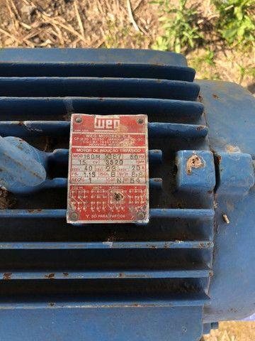 Motor elétrico 15 CV. Bomba Ksb - Foto 3