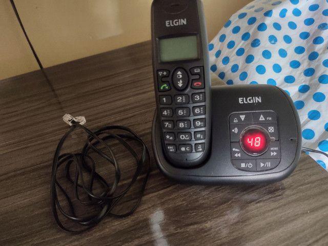 Telefone sem fio marca Elgin