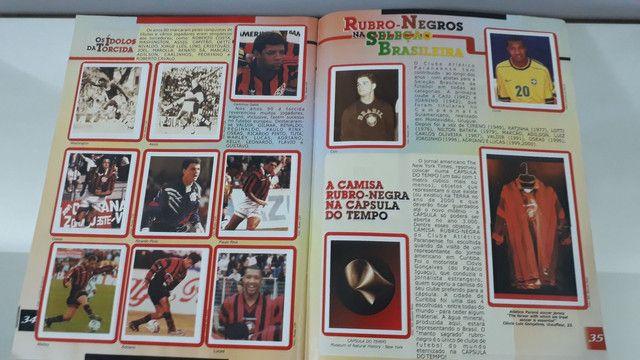 Álbum de figurinhas história ilustrada clube atlético Paranaense  - Foto 6