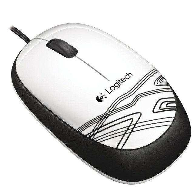 Mouse Usb Logitech M105, Branco, Optico, 1000Dpi, 910-003138