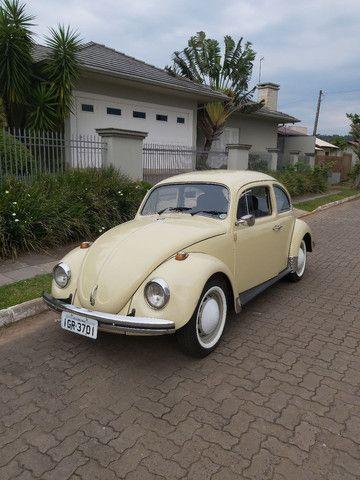 Fusca 1974 Fusca 1300 VW Bege