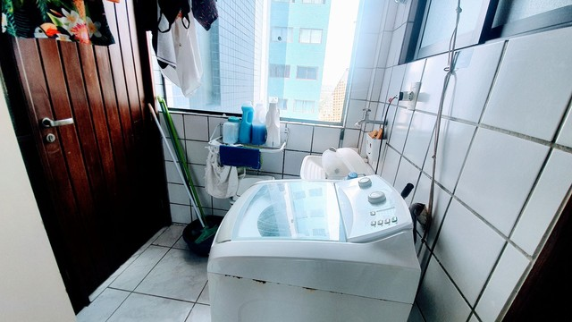 A*/Z- Apartamento com 3 Quartos em Boa viagem em andar alto - Foto 7