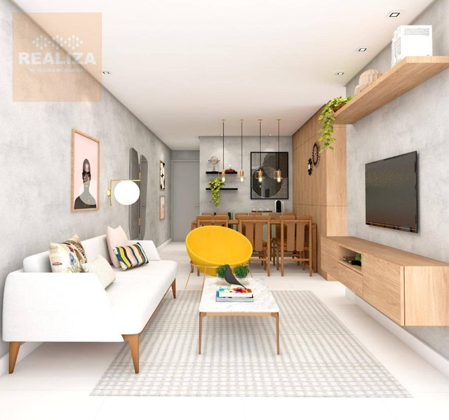 Apartamento com 3 dormitórios à venda, 120 m² por R$ 690.000 - Pedra - Eusébio/CE - Foto 8