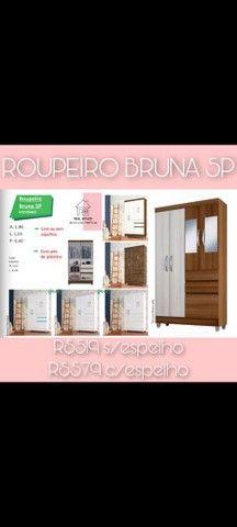 Roupeiro Bruna 5 portas