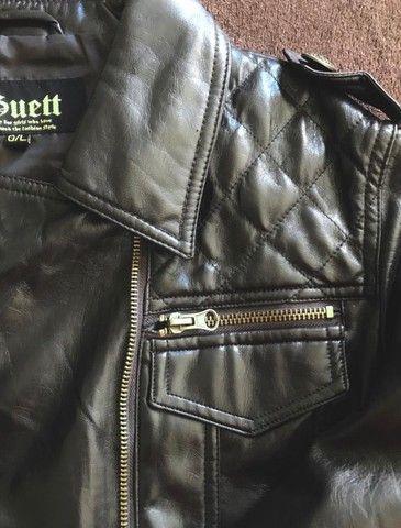 Jaqueta em couro sintético  - Foto 2