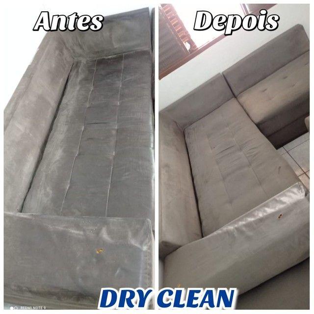 Limpeza e higiênização de estofados - Foto 2