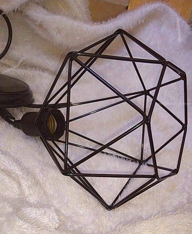 Pendente Aramado Diamante - Foto 3
