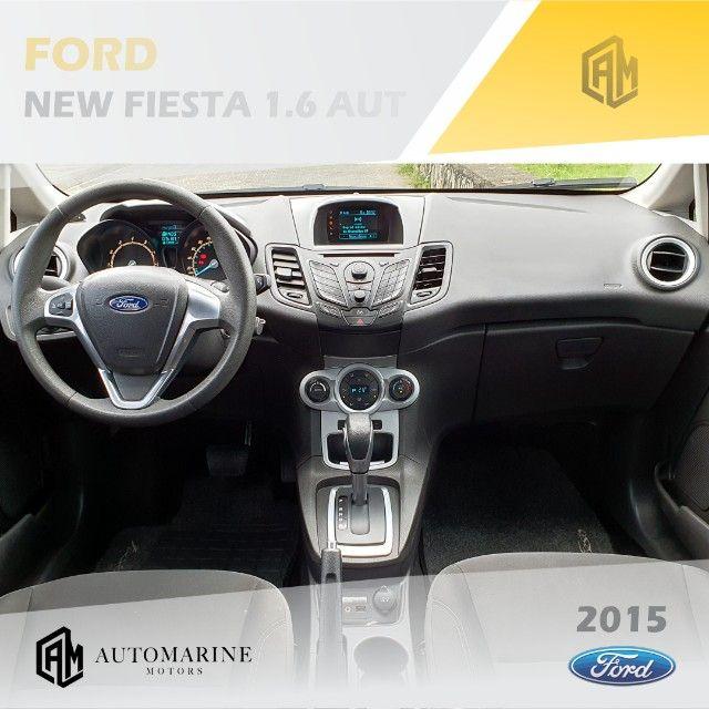 Ford New Fiesta SE 1.6 16v Aut. Único Dono - Muito Novo  - Foto 6